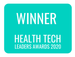 Winner Health Tech Awards 2021 Logo